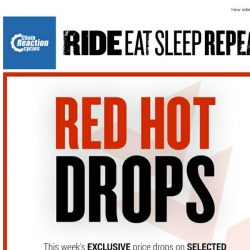 [Chain Reaction Cycles] Red Hot Drops 🔥