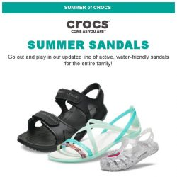 [Crocs Singapore] ☀️Ready for Summer? Enjoy SUMMER with Crocs!⛱️🌊