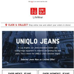 [UNIQLO Singapore] This Week's Limited Offers