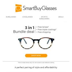 [SmartBuyGlasses] Quick (but amazing) update! Our glasses start from just $27 👓