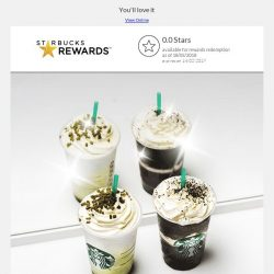 [Starbucks] Some goodness is coming your way...
