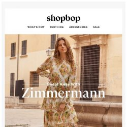 [Shopbop] It doesn't get dreamier than Zimmermann