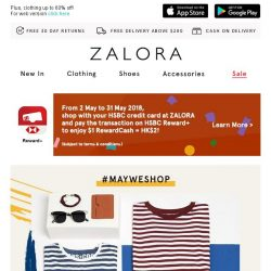 [Zalora] Don't Miss: EXTRA 18% off Sitewide with no min. spend!