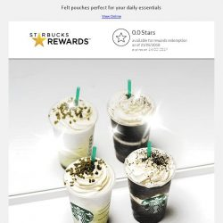 [Starbucks] Yay! 1-for-1 treat from 22 May 🙌