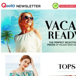 [Qoo10] ☀Are you vacay ready? Check out our list of vacay must have pieces this summer!☀