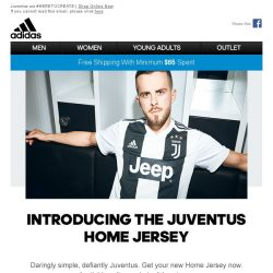 [Adidas] Daringly Simple - The New Juventus Home Jersey.