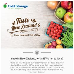 [Cold Storage] ✈Best of New Zealand by Cold Storage Singapore🎉
