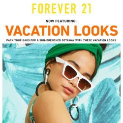 [FOREVER 21] 9 Vacation Looks You Need RN