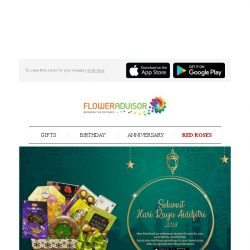 [Floweradvisor] Celebrate Ramadan with Spreading Love to Your Family and Friends. Check Our Hampers