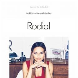 [RODIAL] From Mrs Rodial, To You   Plus £10 Gift