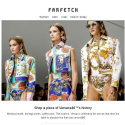 [Farfetch] Dress like a super. Shop Versace