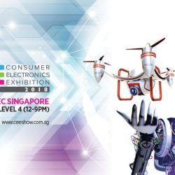 Suntec Singapore: Consumer Electronic Exhibition CEE 2018 with Up to 90% Savings on IT Gadgets & Accessories