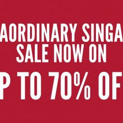 Robinsons: Extraordinary Singapore Sale with Up to 70% OFF, Purchase-with-Purchase & Exclusive 160th Anniversary Deals at All Stores