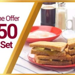Ya Kun: Download Ya Kun App & Enjoy Exclusive Welcome Offer of $0.50 Value Set Meal!