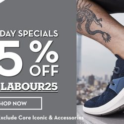 Timberland: Labour Day Special Online Exclusive - 25% OFF Regular-Priced Items!
