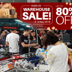 Home-Fix: Warehouse Sale with Up to 80% OFF Bosch, Roman, Yale, Simplehuman & More!