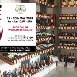 The Oaks Cellars: Warehouse Sale with Up to 70% OFF Wine, Whisky, Champagne, Vodka & More!