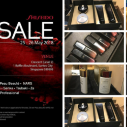 Shiseido: Mid-Year Sale 2018 on Beauty Products from Shiseido, Cle de Peau Beaute, Za, Nars & More!