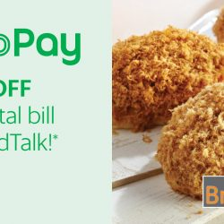 BreadTalk: Enjoy $2 OFF Your Total Bill with GrabPay!