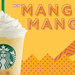 Starbucks: NEW Mango Mango Frappuccino® Available for a Limited Time Only!