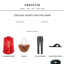 [Farfetch] New In | shop our latest arrivals