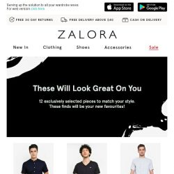 [Zalora] The 12 styles that your wardrobe will thank you for!