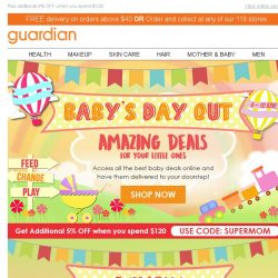 [Guardian] 🍼 Don't Miss Our Top 5 Amazing Baby Deals!