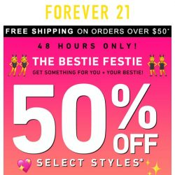 [FOREVER 21] 50% OFF! TEXT YA GIRL 📱
