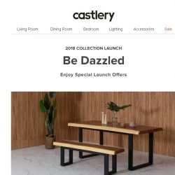 [Castlery] RSVP Now! New Collection Launch tomorrow at Jit Poh.