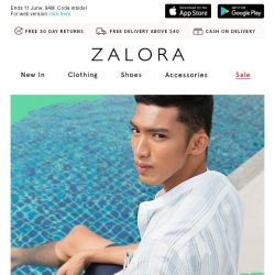[Zalora] ATTENTION: EXTRA 18% off Sitewide!