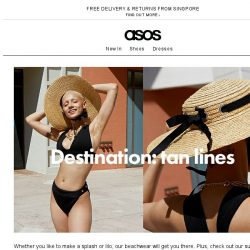 [ASOS] Swimwear don't care