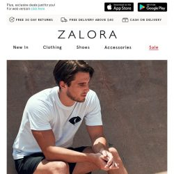 [Zalora] Last call: Up to 60% off bestselling brands!