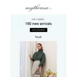 [mytheresa] Just in: Coveted Pre-Fall pieces from Fendi, Loewe, Erdem and more