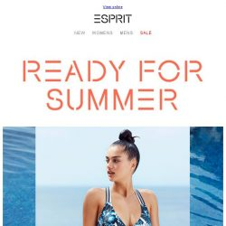 [Esprit] For your Summer training…