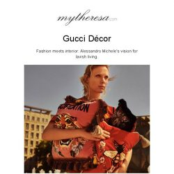 [mytheresa] Home is where the Gucci is: open the door to Gucci Décor