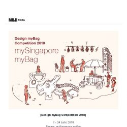 [Muji] MUJI Singapore: Design myBag Competition 2018