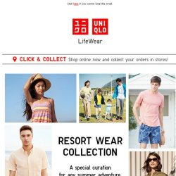 [UNIQLO Singapore] Get dressed for summertime fun