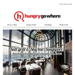[HungryGoWhere] Refresh Your Brunch Experience with 3-Course Weekend Brunch at $44++ by Salt grill & Sky bar, Singapore