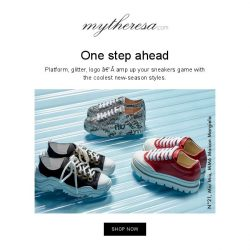 [mytheresa] Fall/Winter '18 sneakers + Sale: further reductions up to 60%