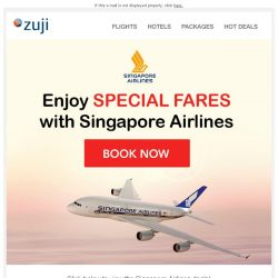 [Zuji] BQ.sg: Singapore Airlines Specials from $199