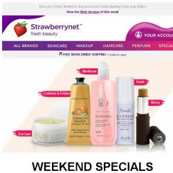 [StrawberryNet] , Crazy US$1 Deals to Spice Up Your Weekend!