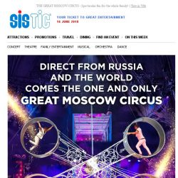 [SISTIC] THE GREAT MOSCOW CIRCUS - Spectacular fun for the whole family!