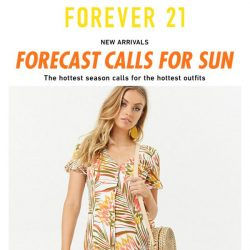 [FOREVER 21] Current Mood: NEW