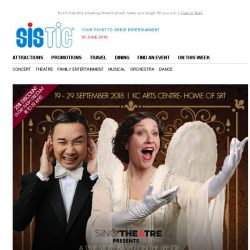 "[SISTIC] Selling: ""Souvenir"" the true story of the opera singer…who couldn't sing!"