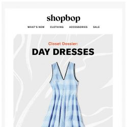 [Shopbop] Summer dresses for every style