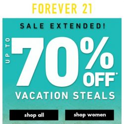 [FOREVER 21] Wait...Did that sale end already?!