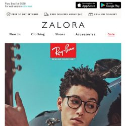 [Zalora] Ray-Ban: A trailblazing approach to your vision needs