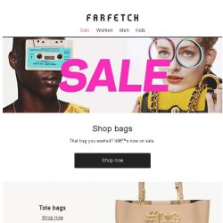 [Farfetch] The best bags on sale