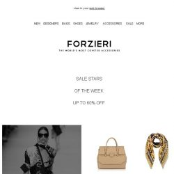 [Forzieri] Sale Stars: Versace, Sophia Webster, Proenza Schouler, Red valentino (USA)