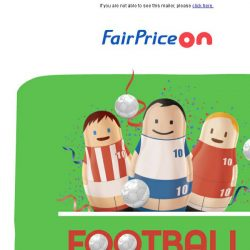 [Fairprice] ⚽ Stock up for football season